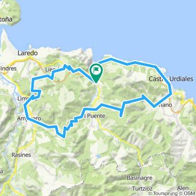 Pontarron-Castro-La Granja-Hoyomenor-Seña-Pontarron