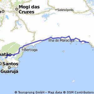 Route Tour - SP/RJ - Dia 1 - Piaçaguera/Maresias