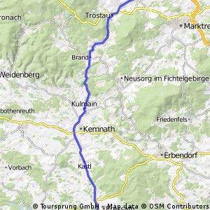 Grafenwohr to Roslau