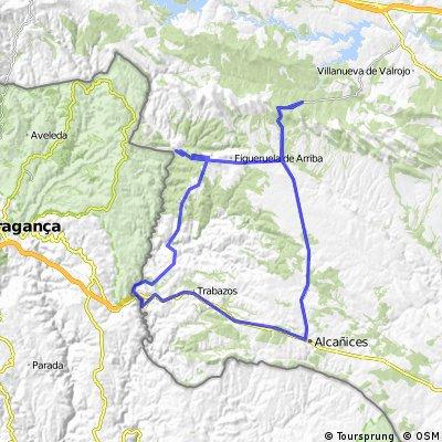 Boya-Alcañices-Quintanilla-Moldones-Villarino Manzanas-Figueruela-Mahide-Boya