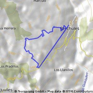 Berchules-Barranquillo del Agua- Berchules