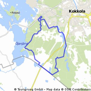 Cycling routes and bike maps in and around Kokkola Bikemap Your