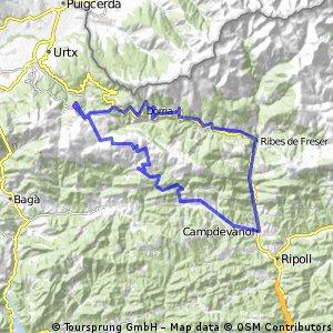 La Molina - Gombreny  - La Craueta - La Molina