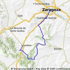CX_Zaragoza_Cariñena_Vistabella_Herrera_Fuendetodos_Jaulin_Zaragoza