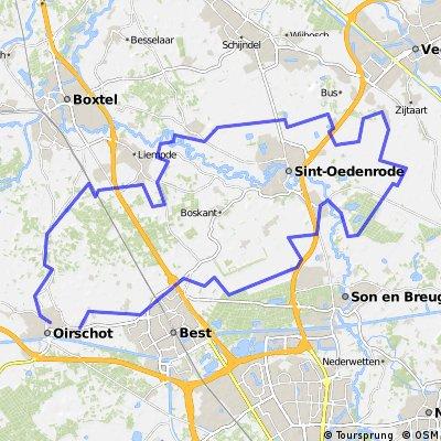 11/9/14 (do) Rondje om St.Oedenrode