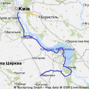 Миронівка-Київ
