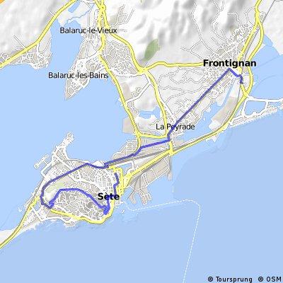Tour de France 1 1.Etappe Frontignan - Sete (EZF)