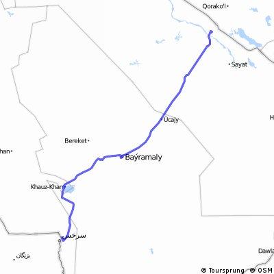 across Turkmenistan  1