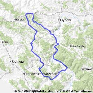 Ujazdy - Dolina Sanu