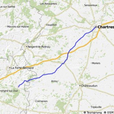 Dag. 32 Chartres- Vibraye