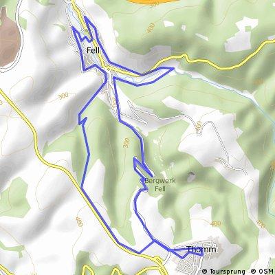 20 Stunden Radmarathon rund um Fell