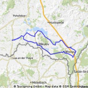 119+ Hrušovany nad Jevišovkou - Valtice - Lednice