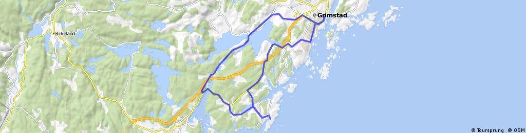 Homborsund om Vestlandske hovedvei