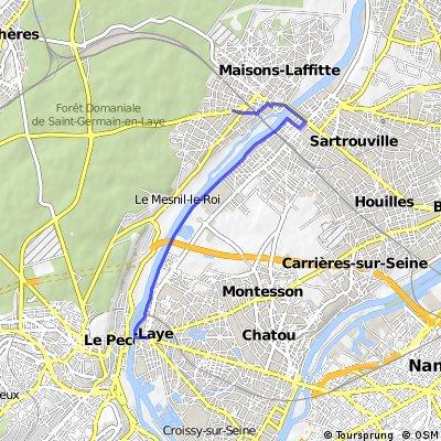 Maisons-Laffitte - Le Vesinet