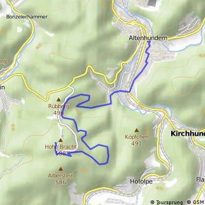 Hohe Bracht Berglauf von Altenhundem