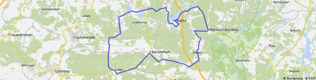 Klein Köris - Sperenberg - Petkus - Märkisch Buchholz