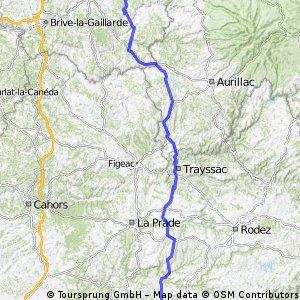 Etape 3 : Carmaux-Marcillac la Croisille