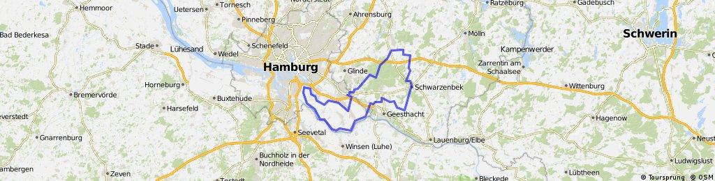 HH-110 (Aumühle-Kuddewörde-Schwarzenbek-Escheburg-Deich-Neuengamme)