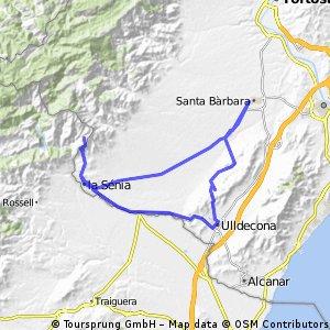 st. barbara - ulldecona - la senia - font pallerols