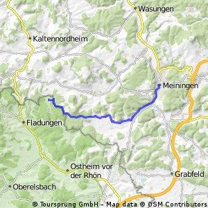 Meiningen- Weimarschmieden