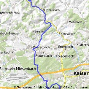 4 ROAR - KL - Hohenecken - Kreimbach Kaulbach - Eisdiele
