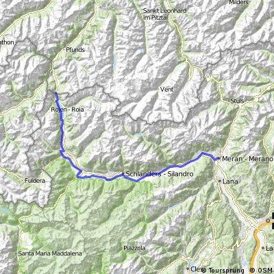 The Vinschgau Radweg (Ciclabile Val Venosta)