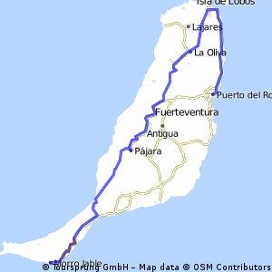 PUERTO DEL ROSARIO - CORRALEJO - CENTRO - MORRO JABLE