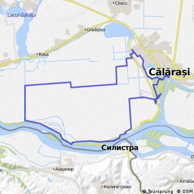 Traseu MTB - Cursa Dunarii Calarasene