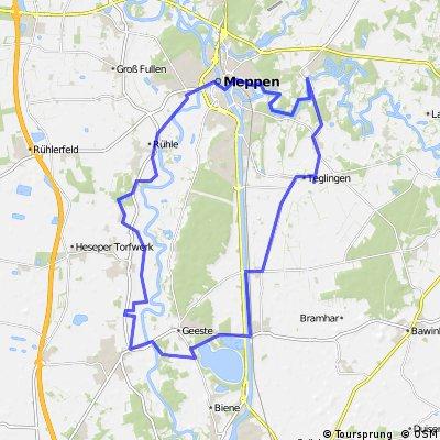 Rundtour LIN-MEP 44 km