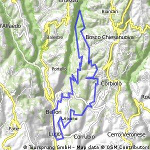 Da Lugo verso Bosco