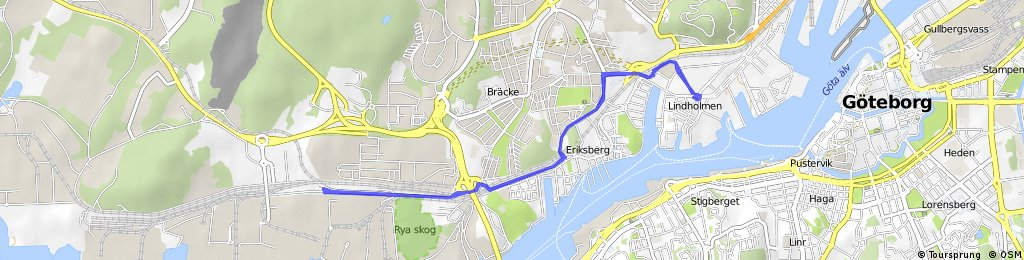 bike route test