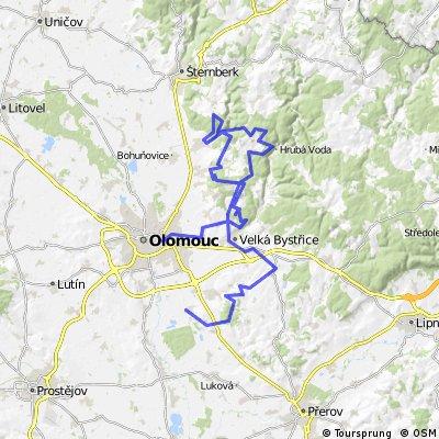 Olomoucké cyklobuznění 2014 HOF reverse.gpx