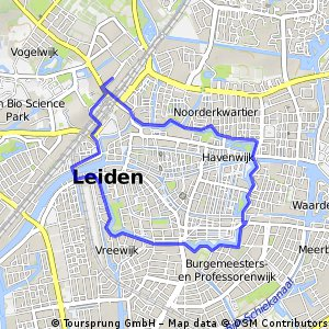leiden lakes Bikemap Your bike routes