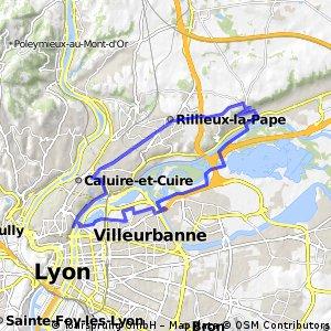 Lyon Kurztrip mit Berg