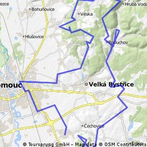 Olomoucké cyklobuznění 2014