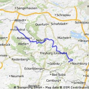 durch das Unstruttal (Naumburg-Artern)
