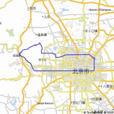Xiang Shan/Botanic Garden loop