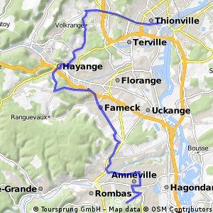 11.Thionville – Amnéville - crono