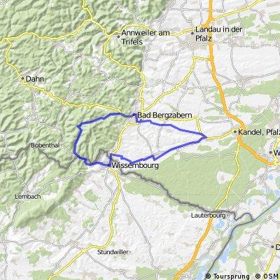 Minfeld - Reisdorf - Minfeld
