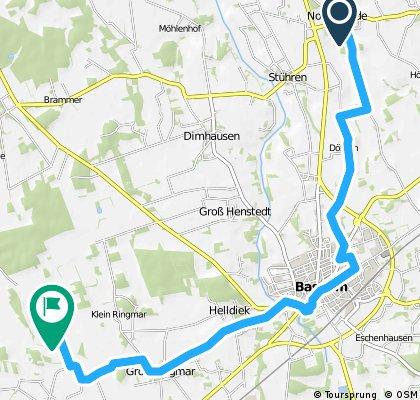 (Harpstedt-30HW) - Vier-Täler-Fahrt zu historischen Stätten