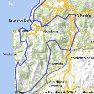 Primeira etapa Volta a Galicia (proposta)