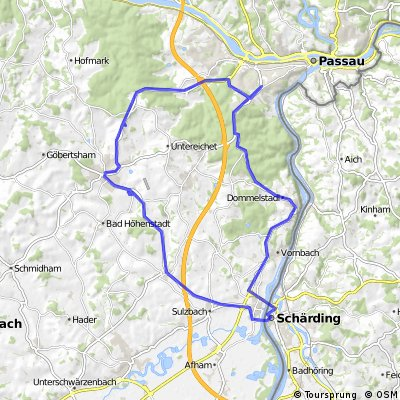 Passau-Schärding-Route
