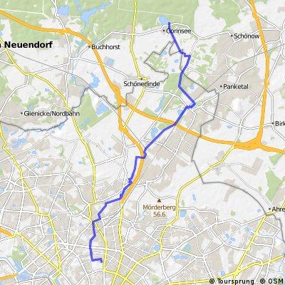 Pankow - Rieselfelder Hobrechtsfelde