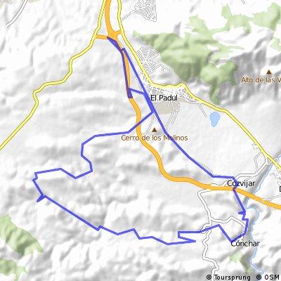 Padul - IBP 63 - 04/10/14 - Barrancos del Calabocillo y del Agua y veredas de Cozvijar