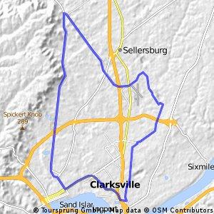 test loop1- 46 km.