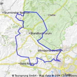 54 miler Tarrants and Stourpaine