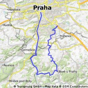 Praha - Jih 60km