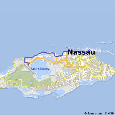 Cycling routes and bike maps in and around bahamas bikemap your map thumbnail publicscrutiny Images