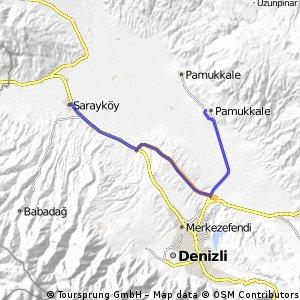 Sarayköy-Pamukkale