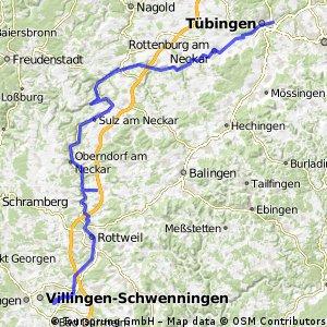 Neckartalradtour Teil 1